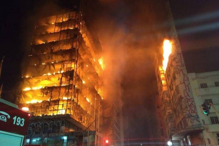 Incêndio Edificio Wilton