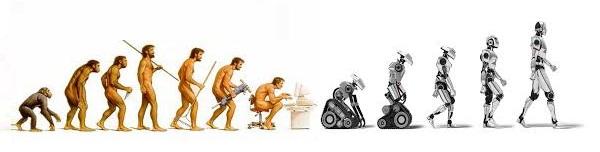 EVOLUÇÃO HOMEM MAQUINA
