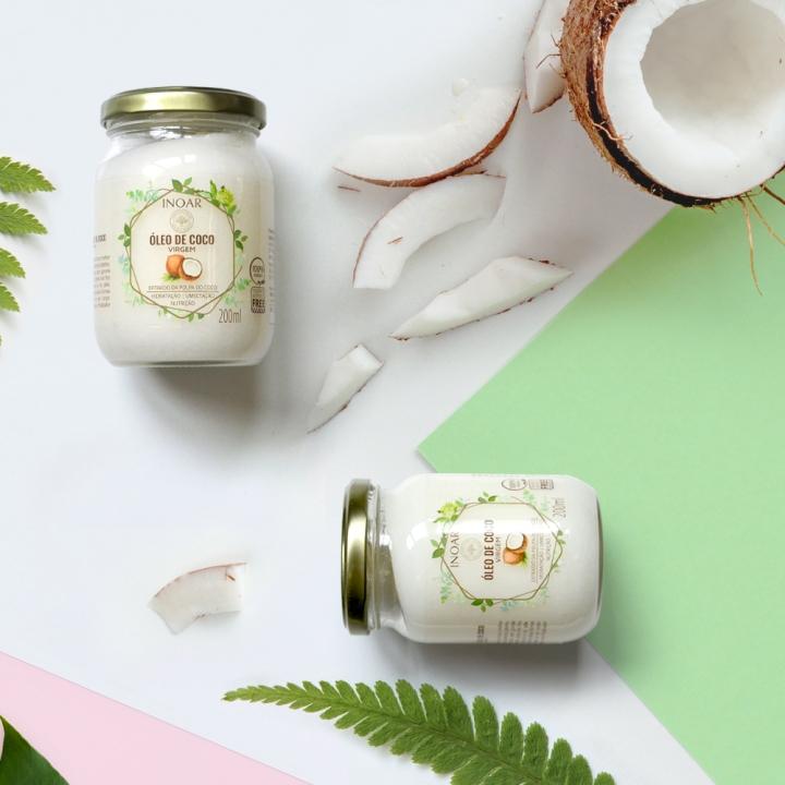 4 dicas de como o óleo de coco pode ajudar seus cabelos epele