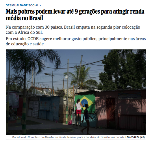 """""""Mais pobres podem levar até 9 gerações para atingir renda média no Brasil"""". Como uma mãe solo vive nesta realidade. Por InocênciaManoel"""