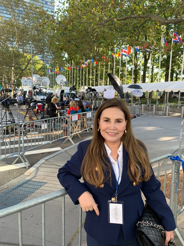 Co-fundadora da Inoar Cosméticos participa de Fórum na Organização das NaçõesUnidas