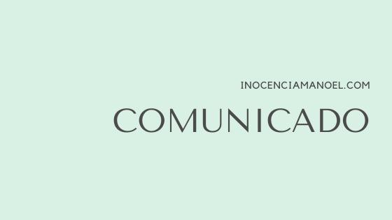 """""""COMUNICADO"""""""