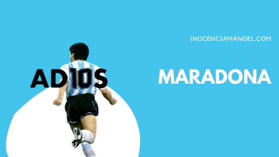 Adiós, Maradona